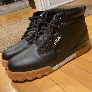 Men's Fila sneaker boots